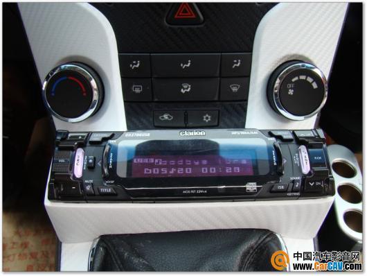 35影音车饰 雪佛兰科鲁兹汽车音响加装歌乐CD 5高清图片