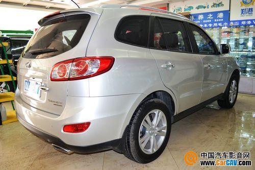 郑州美悦汽车音响 现代圣达菲汽车音响改装升级曼琴 高清图片