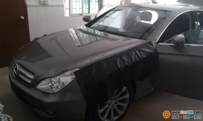 奔驰cls 300的选择 比柯abs减震胶全车隔音 高清图片