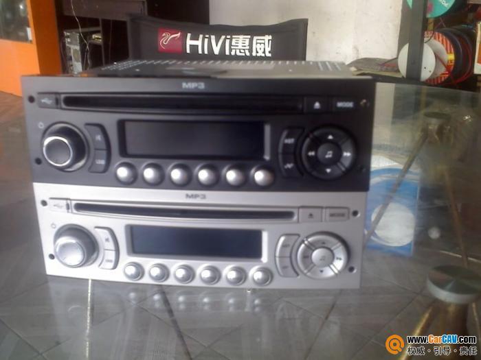 雪铁龙世嘉原车CD机带USB接口 汽车影音网论坛 汽车音响改装升级 高清图片