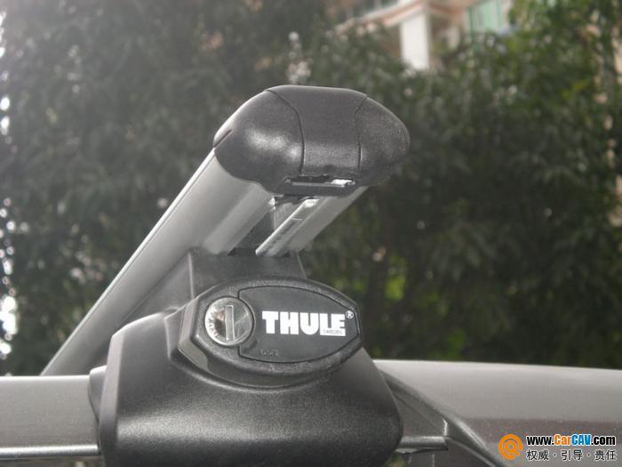 佛山酷车旋律汽车音响专业改装 丰田汉兰达装拓乐车顶架和太平洋行李