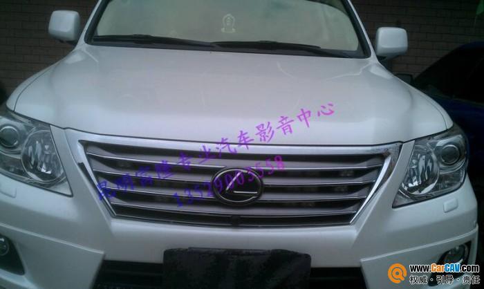 云南昆明富隆专业汽车影音中心中东版凌志570雷克萨斯570高清图片