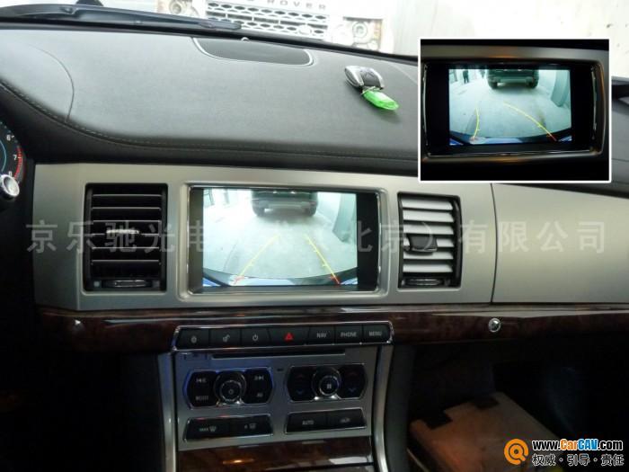 京乐驰全国首款捷豹xf原车屏升级测评高清图片