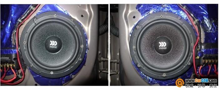 【佛山酷车旋律】别克君威汽车音响改装摩雷寻觅完美音质 - 香港佳能仕公司 - 汽车音响