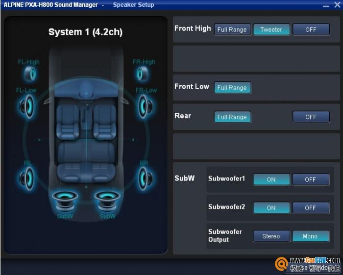 分享调试经验 玩转阿尔派PXA-H800数字音频处理器 - 乐声人静 - 金华专业汽车音响改装技术输出团队