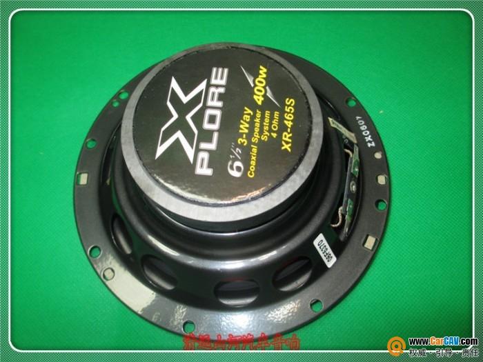 广东清远 plore6.5寸喇叭 XR 465S 10对1700元 汽车影音网论坛 汽车音高清图片