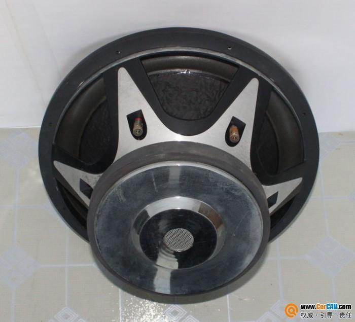 特价出15寸双音圈铝盆架低音喇叭一只 10 12寸低音炮一批 汽车影音网高清图片