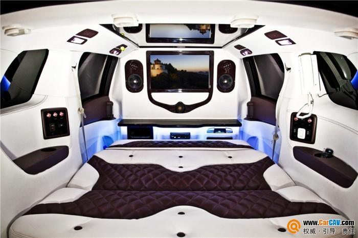 别克GL8汽车内饰改装豪华之作 超强的视听感官享受高清图片