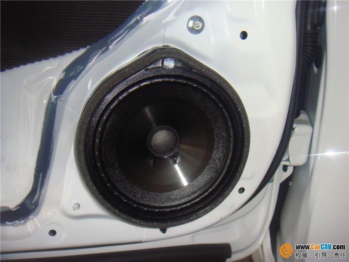 【开平桥升】本田思域汽车音响改装摩雷享受舒适驾驶空间 - 香港佳能仕公司 - 汽车音响