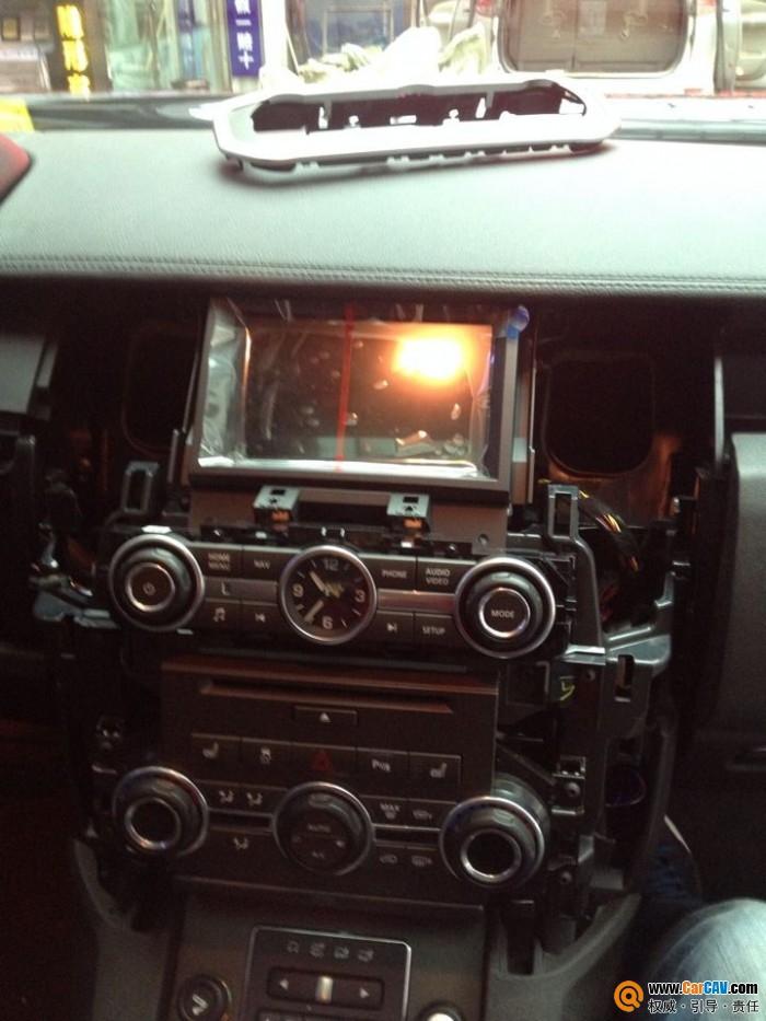 4款发现4加装倒车影像 汽车影音网论坛 汽车音响改装升级 汽车导航高清图片
