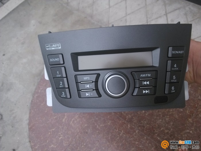 安徽蚌埠出别克凯越歌乐USB收音机 汽车影音网论坛 汽车音响改装升高清图片
