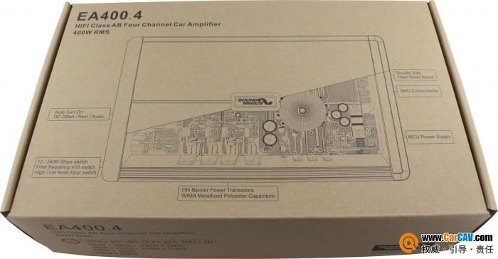 品质一流 圣美歌EA400.4四路功放开箱测评报告