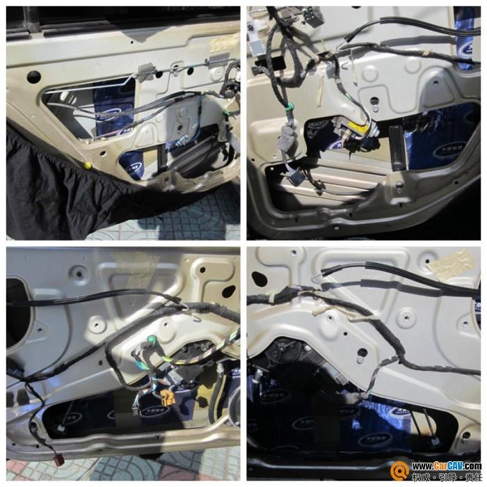 车门变成一个结实的音箱体结构,有效强化车身钢板,减少钣金振高清图片