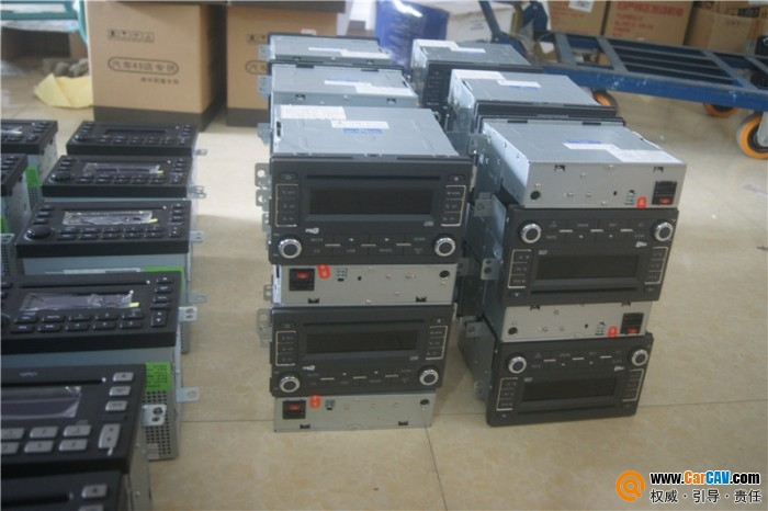 南宁出奇瑞瑞虎风云等双定面板带USB CD机 40台,E5 24台,风云2高清图片