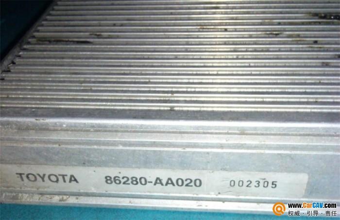 请教丰田功放拆下来能用吗,谁有接线图定义 音响维修 汽车影音网论高清图片