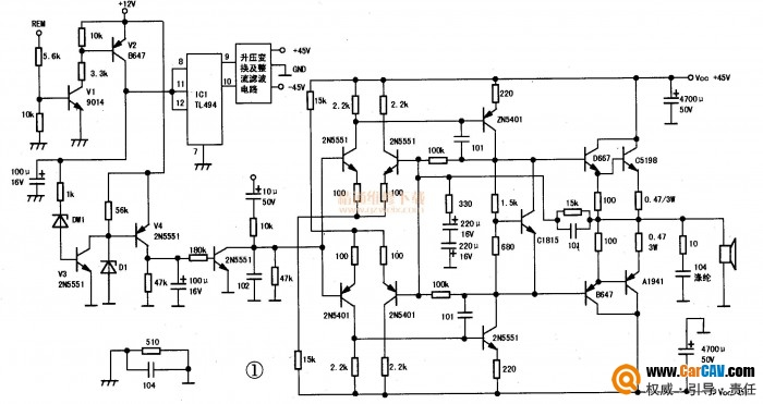 检修车载低音炮声音断续故障问题解决办法