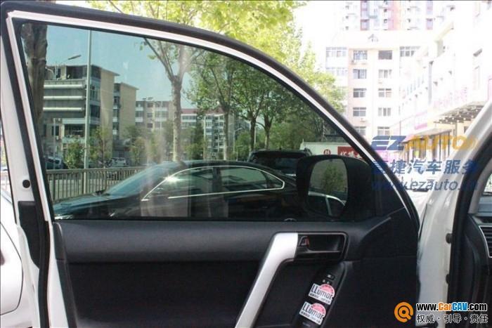 丰田普拉多强生汽车贴膜效果图 汽车贴膜 汽车影音网论坛 汽车音响改高清图片