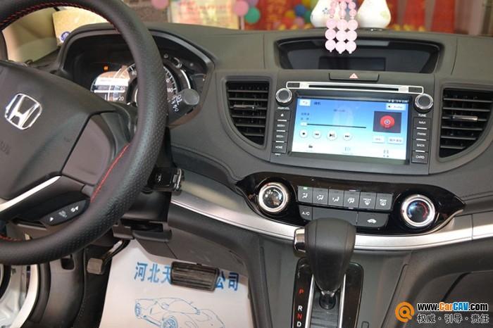 本田CRV汽车改装车载导航飞歌G6S 实时精准