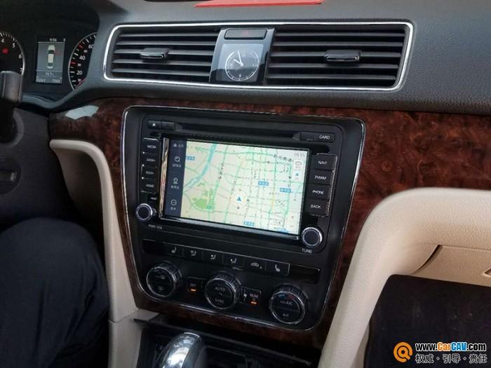 大众帕萨特汽车改装导航飞歌G6S 更注重内在