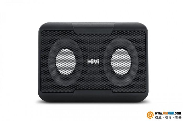中国HiVi惠威V8双8寸超薄有源低音炮车载超低音