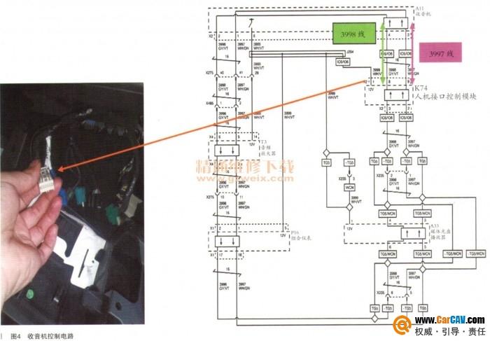凯迪拉克ATS-L原车娱乐显示屏黑屏故障解决