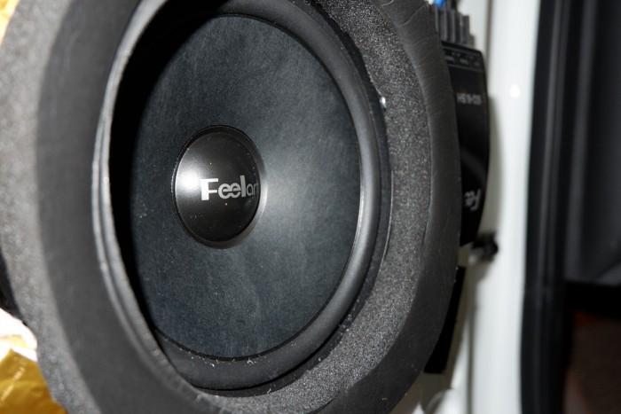 漳州立佳现代IX25汽车音响改装芬朗 好声音好心情