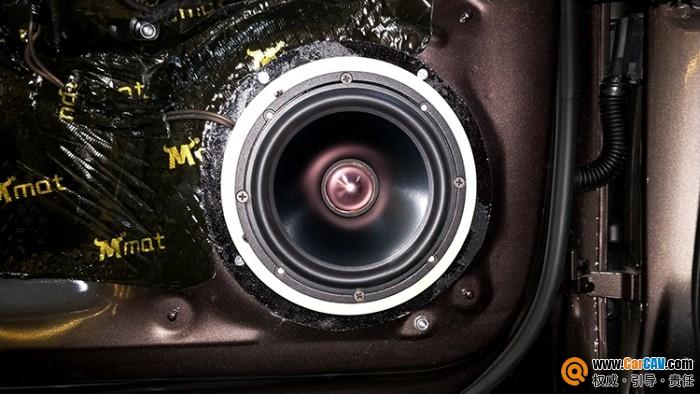 兰州牧歌奥迪A4汽车音响改装黄金声学 靓音完美绽放