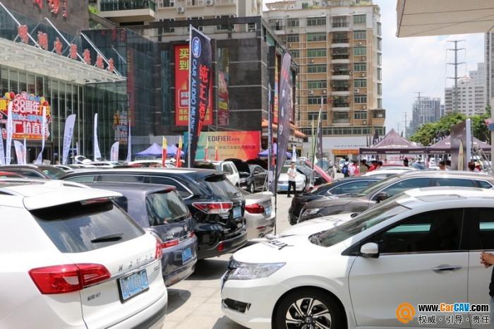 漫步者杯MACE赛事·茂名站:近200台车同台竞技声势浩大