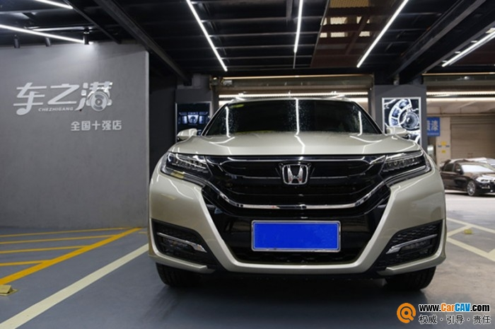 合肥车之港本田UR-V汽车音响改装先锋 极致完美