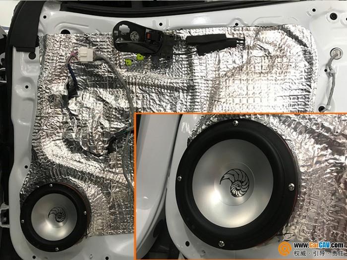 西安车乐汇讴歌CDX汽车音响改装海螺 真真切切