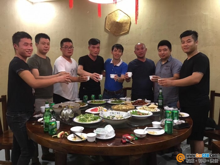 CarCAV总裁阿锦进行走访临沂汽车影音后市场