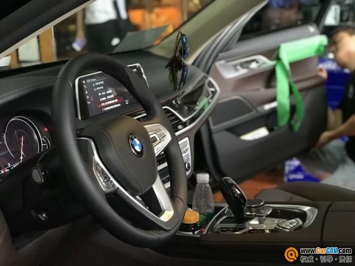 成都美声宝马730汽车音响改装艾索特 无损升级