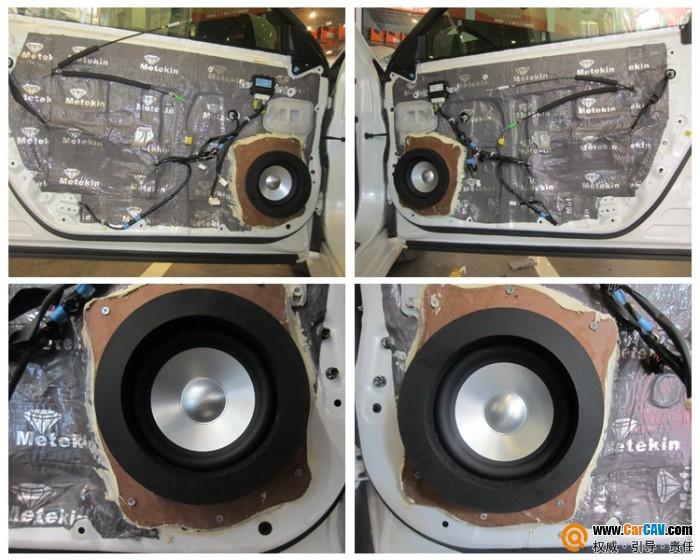 柳州至上音乐雷克萨斯ES300汽车音响改装歌剧世家 美妙