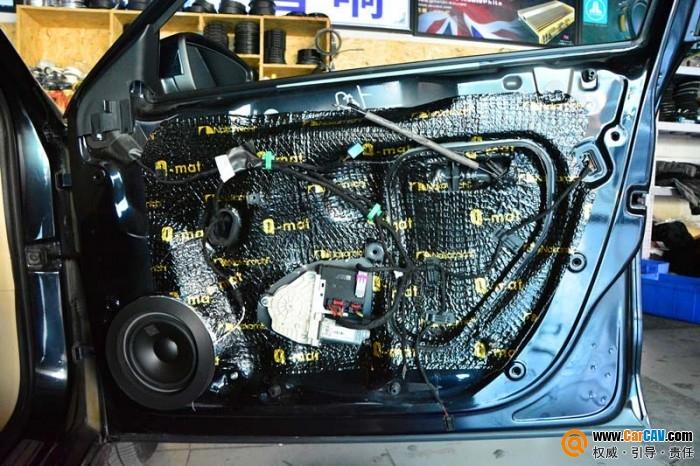 唐山博纳大众帕萨特汽车音响改装丹拿232 绝配!