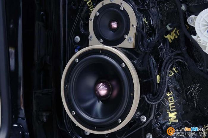 台州慧声大众迈腾汽车音响改装黄金声学 真正音乐