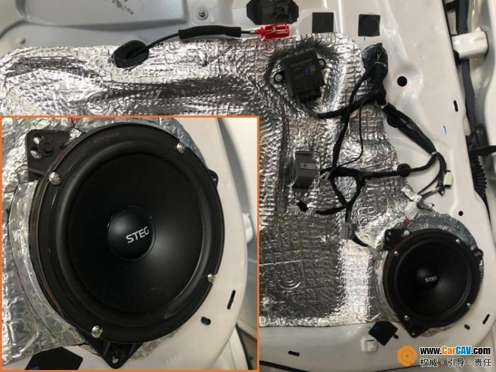 唯美的声音 西安车乐汇林肯MKX汽车音响改装海螺