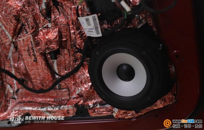 珠海音匠奔驰GLA45汽车音响改装必伟 高保真