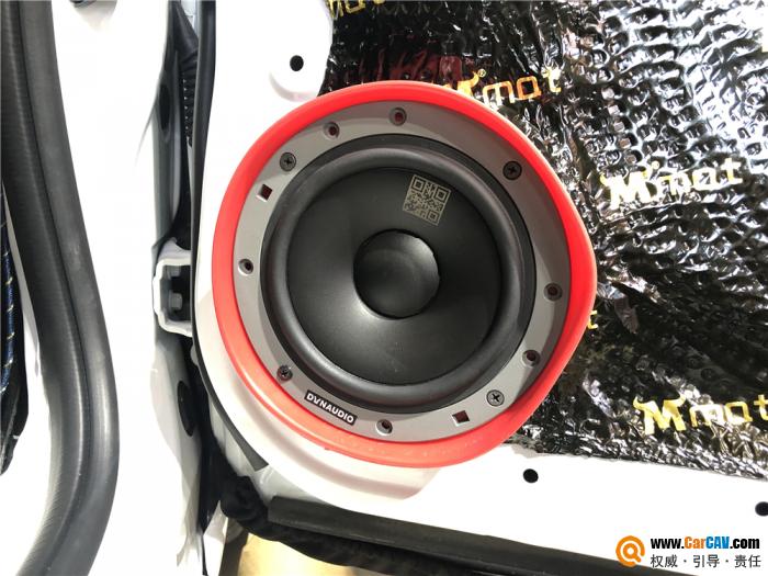 天津江波本田飞度GK5汽车音响改装丹拿 满足对音乐的热爱