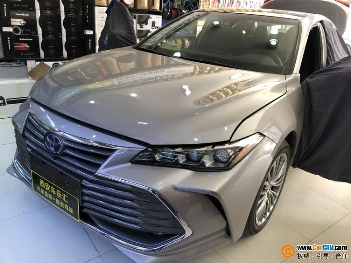 西安車樂匯豐田亞洲龍汽車隔音改裝賽倫科特 噪音零容忍