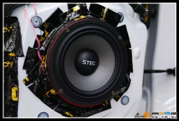 青岛车之友马自达CX-4汽车音响改装史泰格 余音缭