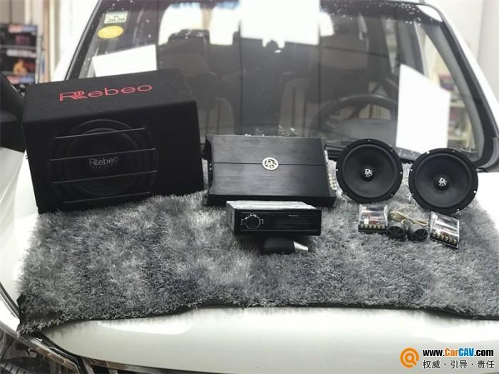荔浦賣音樂奇瑞開瑞K50S音響升級瑞典DLSMB6.2 淋漓盡致
