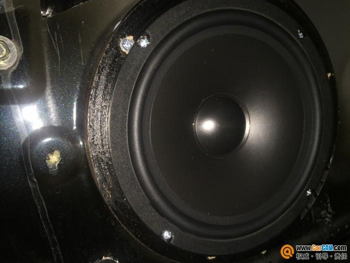 泉州靓车汇本田奥德赛汽车音响改装皇家骑士 两分频喇叭