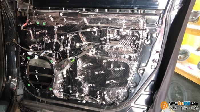 懷化好聲音豐田漢蘭達汽車隔音改裝GT 四門隔音