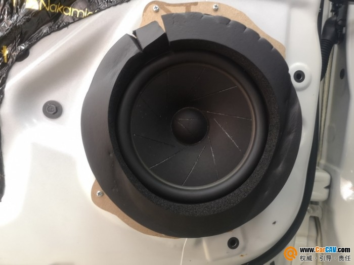 上海天目日产途乐汽车音响改装芬朗 听来听去还是