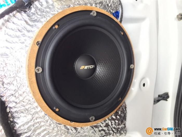 武汉歌德本田CR-V汽车音响改装伊顿 不一样的听音