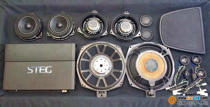 西安至乐宝马X5汽车音响改装史泰格 极致人声体验