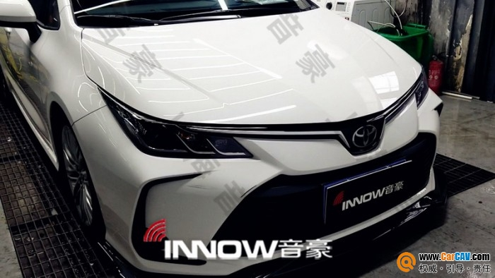 上海音豪豐田卡羅拉汽車隔音改裝俄羅斯StP 帶來安靜