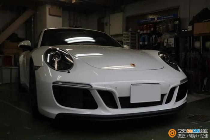 保时捷911 Carrera GTS音响怎么改?重点在专车专用带箱体