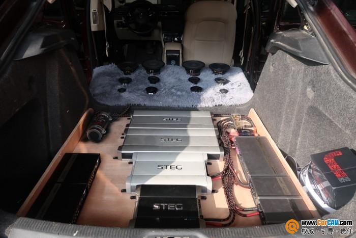 广州声扬斯柯达速派汽车音响改装ATOMIC AP三分频